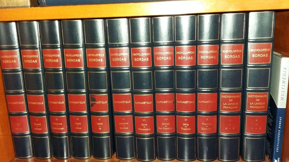 12 volumes d'encyclopédie BORDAS dont 2 dictionnaires 50 Les Lilas (93)