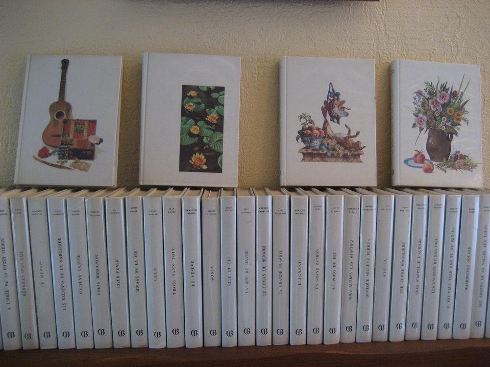 39 Volumes reliés Cercle du Bibliophile décor gouache Ivers  3 Haute-Avesnes (62)