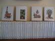39 Volumes reliés Cercle du Bibliophile décor gouache Ivers  Wingles (62)