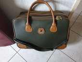 Sac de voyage Lancel cuir et toile 100 Bordeaux (33)