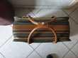 Sac de voyage Lancel cuir et toile Maroquinerie