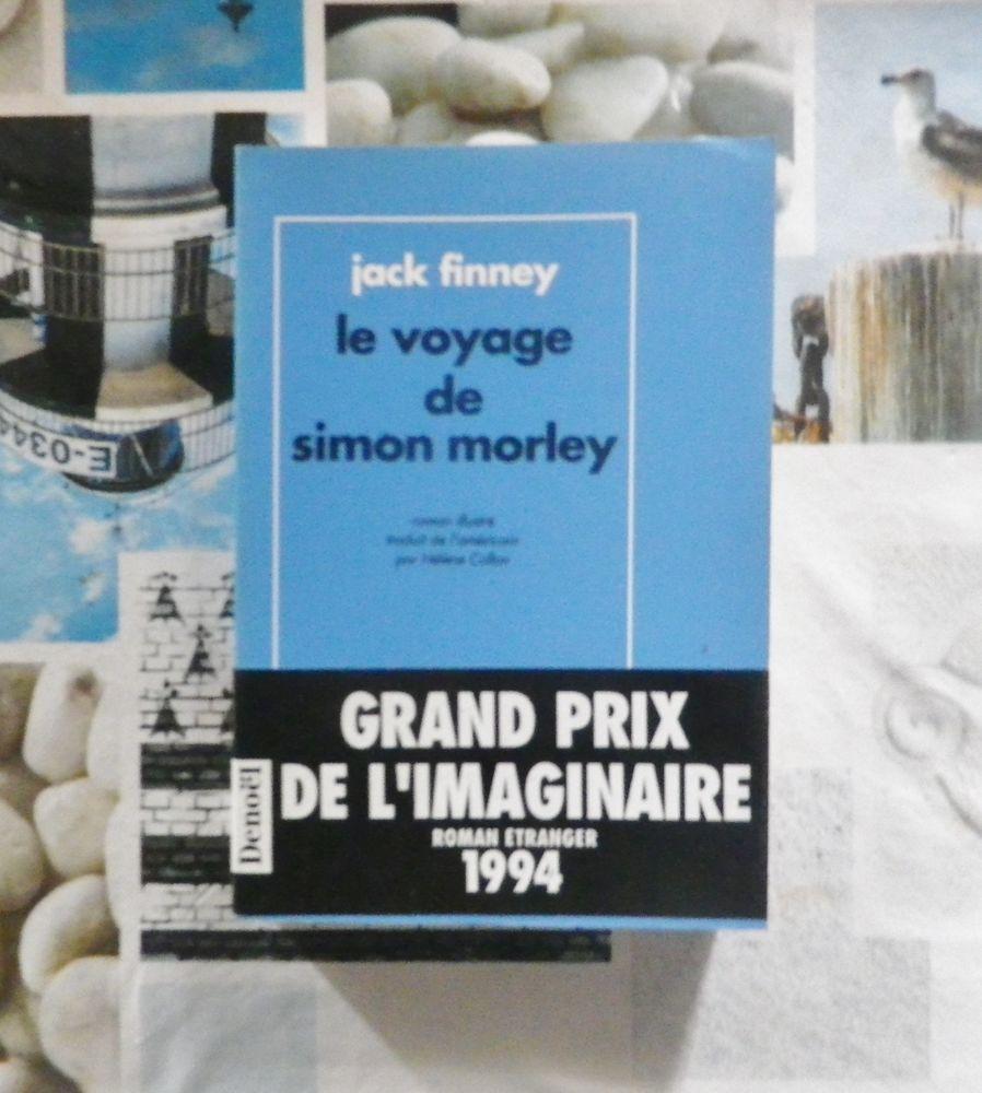 LE VOYAGE DE SIMON MORLEY de Jack FINNEY Ed. Denoël Présence 4 Bubry (56)