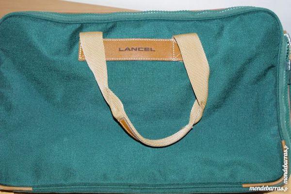 Sac de voyage vert Lancel 90 Jonquières (84)