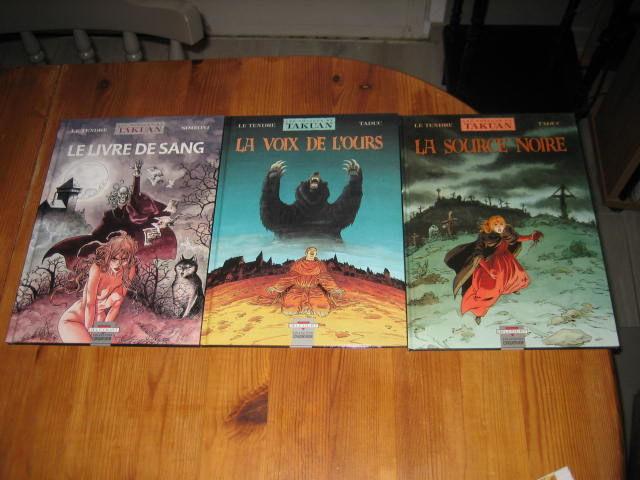 lot 3 bd LES VOYAGES DE TAKUAN 2+3+4 EO DELCOURT Livres et BD