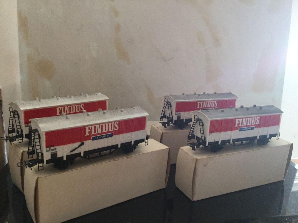 Wagon  Meccano FINDUS 20 La Seyne-sur-Mer (83)