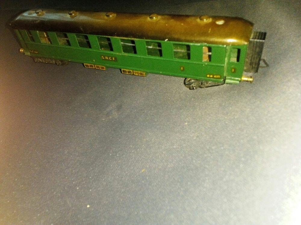 wagon première classe HO BLZ scelle BELL 67 Lisieux (14)