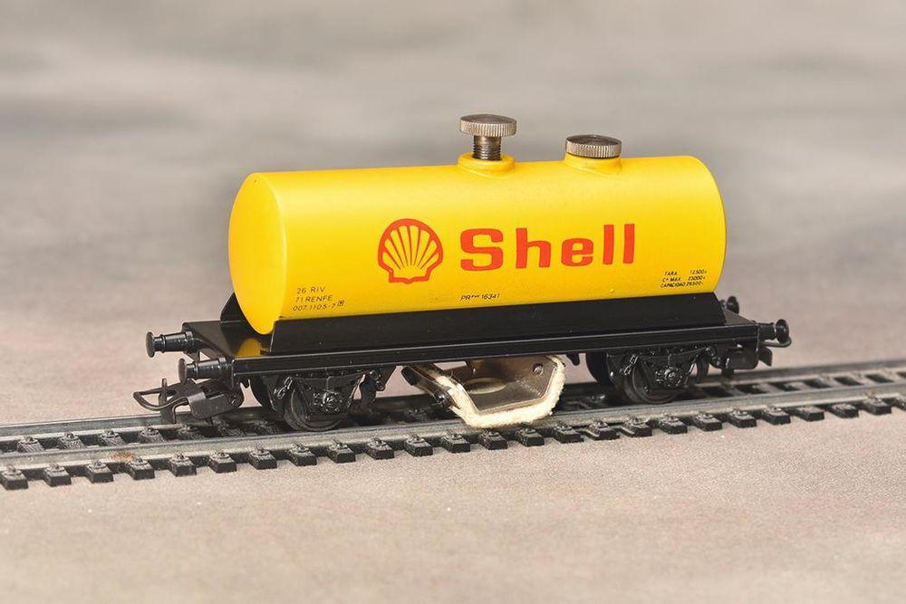 Wagon shell nettoyeur electrotren HO 25 Fleury (11)