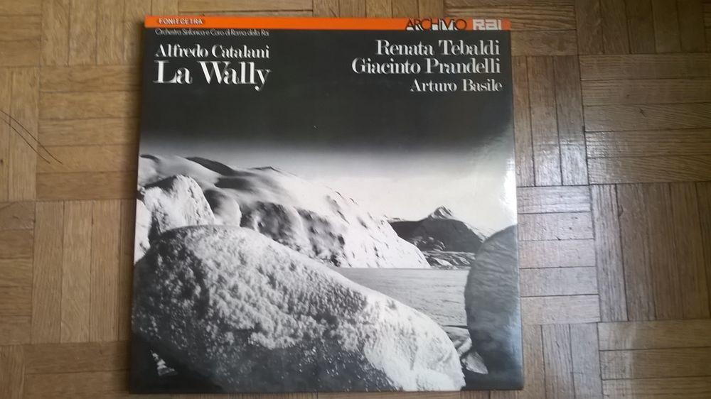 La Wally CD et vinyles