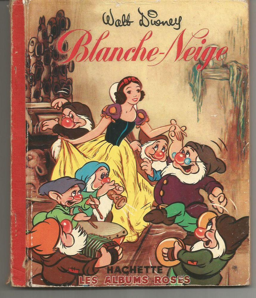 WALT DISNEY Blanche Neige Collection les albums roses 7 Montauban (82)