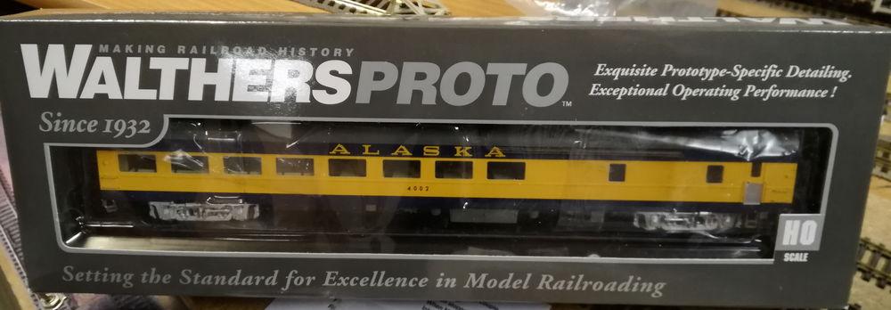 Walthers Proto 920-12700, HO, Alaska, avec éclairage 90 Cormeilles-en-Parisis (95)