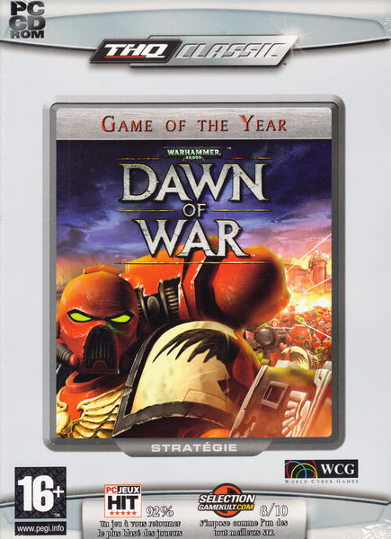 CD Jeu PC Warhammer 40.000 : Dawn of war NEUF blister 3 Aubin (12)