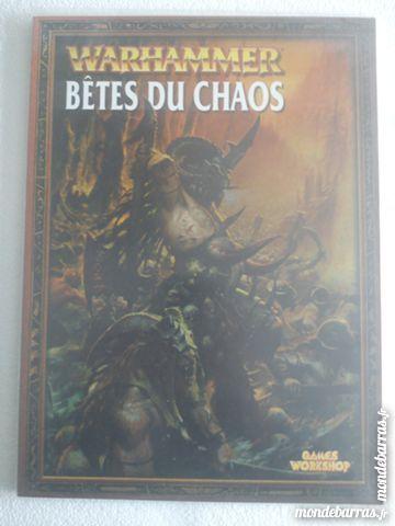 GW - Warhammer - Livres d'armées - Bêtes du Chaos Jeux / jouets