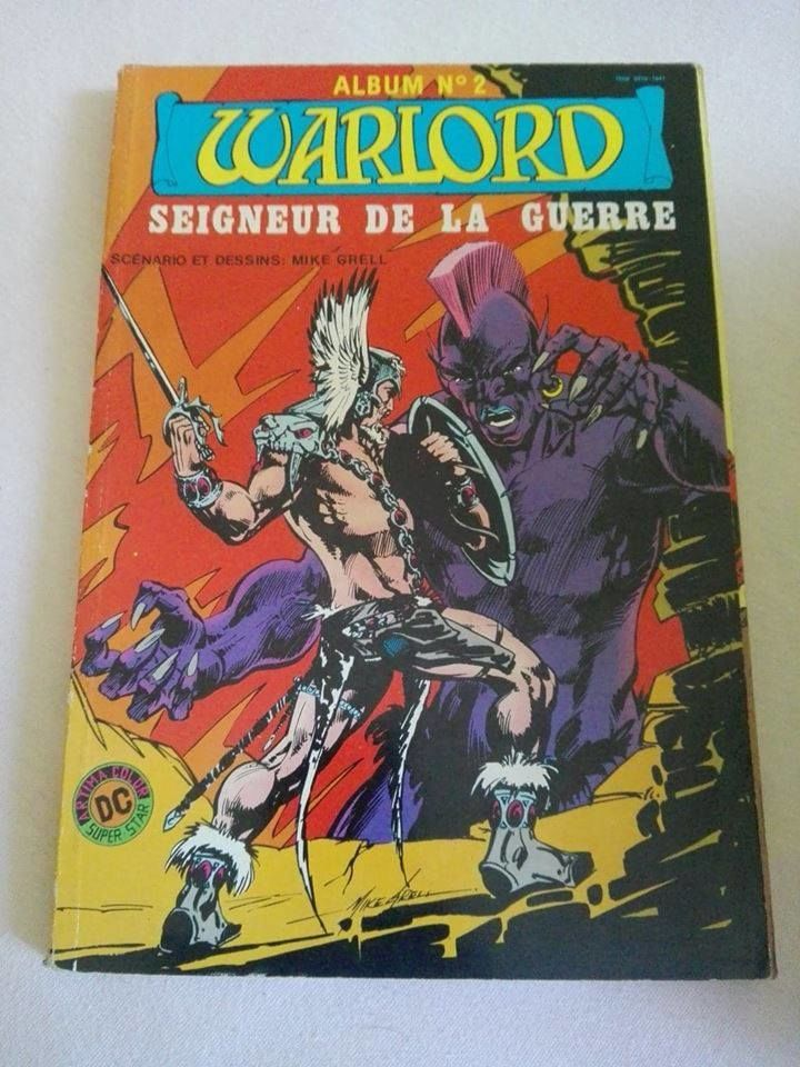 Warlord - Album n°2 - Dc Comics - Aredit - 1983 4 Boulogne-sur-Mer (62)