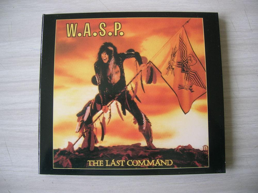 CD WASP The Last Command 12 Nantes (44)