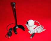 Webcam LOGITECH + Micro PLANTRONICS pour PC 12 Paris 15 (75)