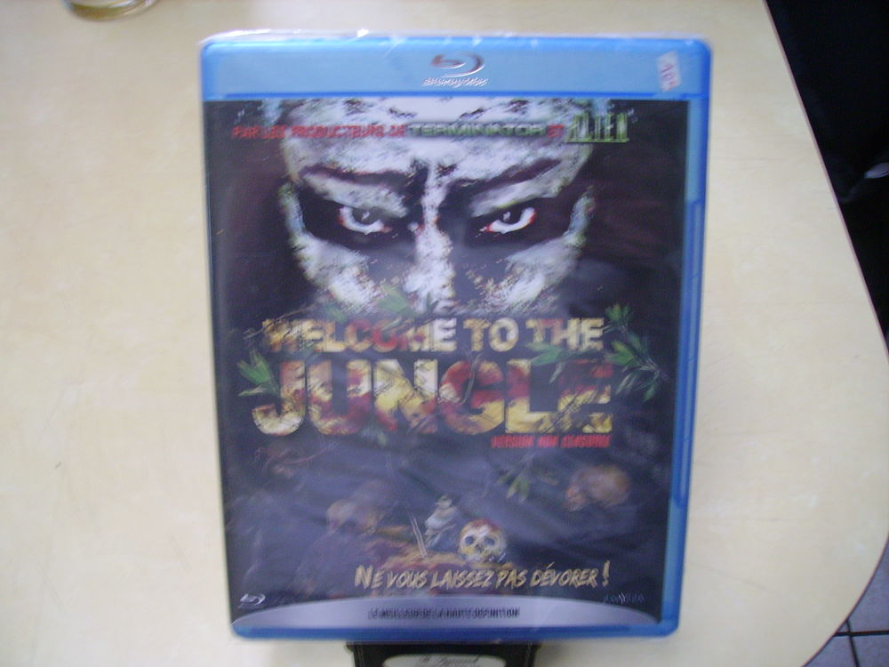 Blu ray Welcome to The Jungle neuf emballé - horreur 9 Haubourdin (59)