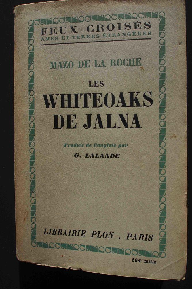 les Whiteoaks de Jalna, 4 Rennes (35)