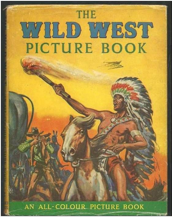 THE WILD WEST picture book - an all colour picture book 5 Montauban (82)