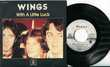 Wings'Mc.Cartney'45t vinyle'With A Little Luck