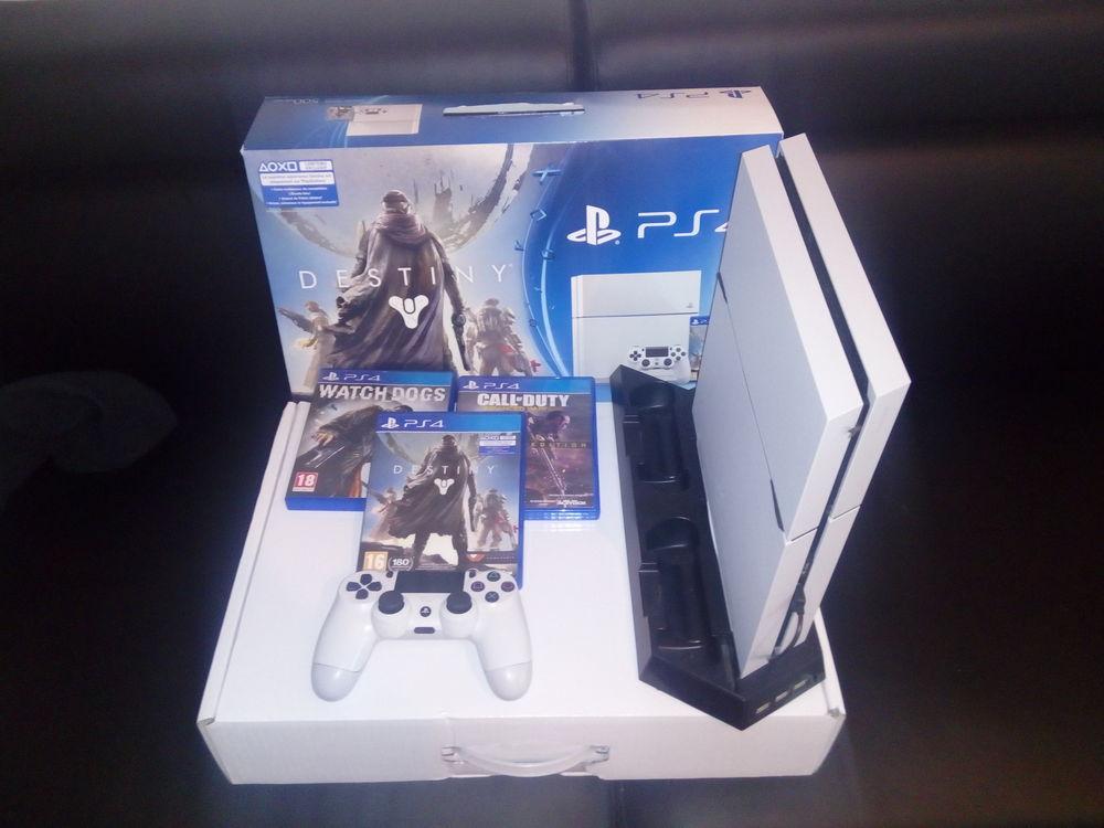 ps4 withe glacier pack destiny Consoles et jeux vidéos