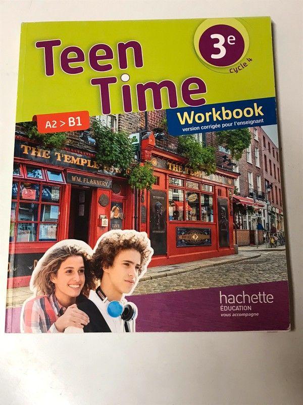 Workbook Anglais Teen Time 3ème 8 Strasbourg (67)