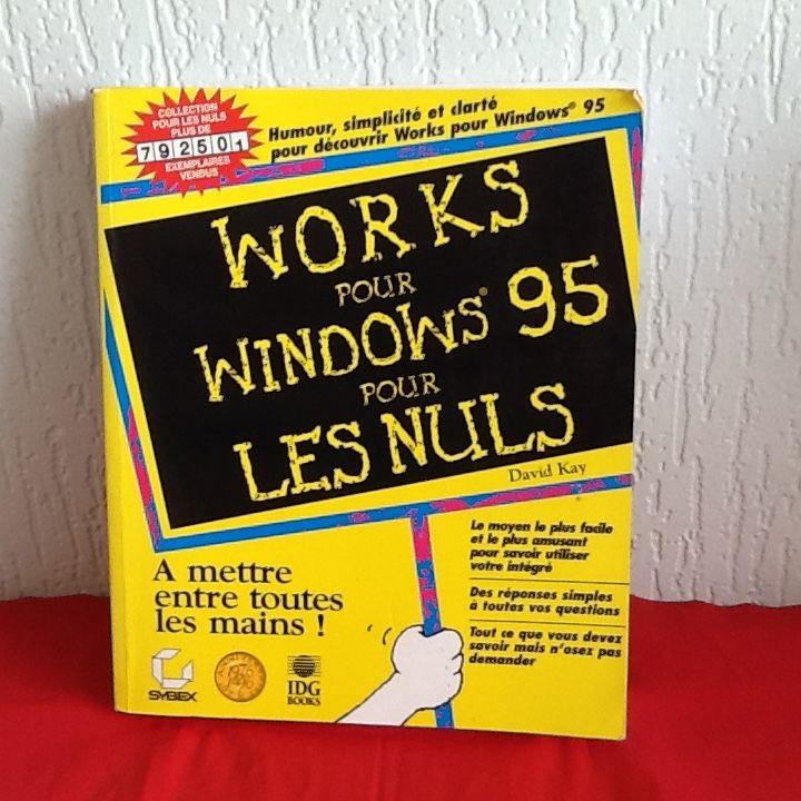 WORKS pour WINDOWS 95 pour les NULS 5 Saint-Etienne (42)