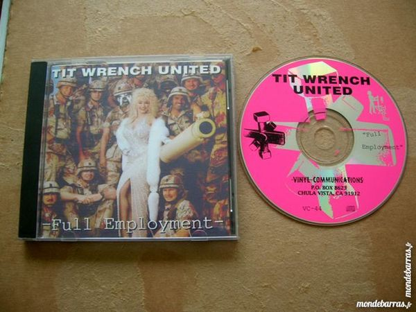 CD TIT WRENCH UNITED Full Employment - Noise Elect 14 Nantes (44)
