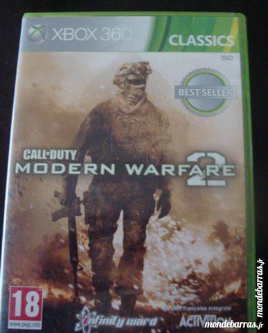 Jeu xbox 360  Call of Duty Modern Warfare 2 5 Villeneuve-d'Ascq (59)