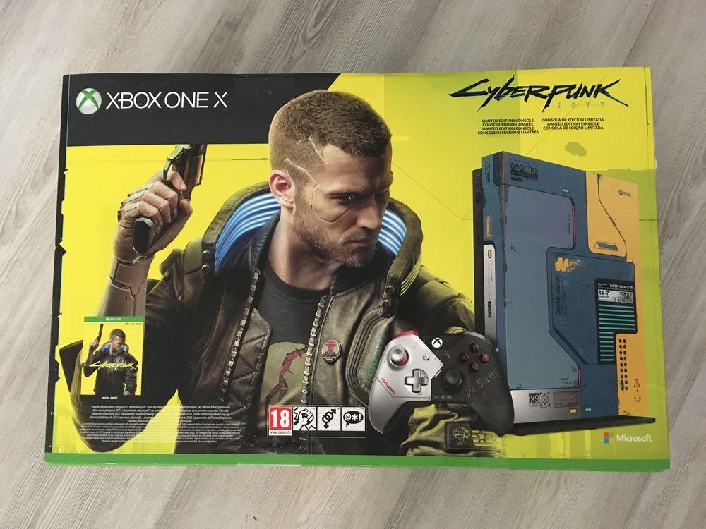 Xbox One X édition limitée Cyberpunk 2077 Consoles et jeux vidéos