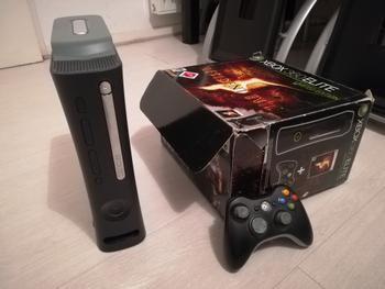 Xbox 360 Elite 250Go + Jeux 90 Alfortville (94)