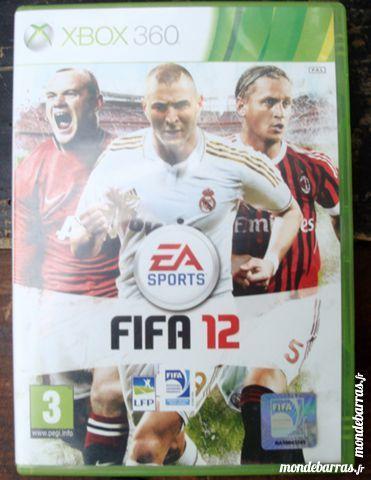 Jeu XBOX 360 FIFA 12 4 Villeneuve-d'Ascq (59)