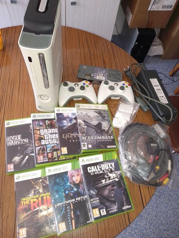 Xbox 360 120 GO 7 jeux  120 Amplepuis (69)
