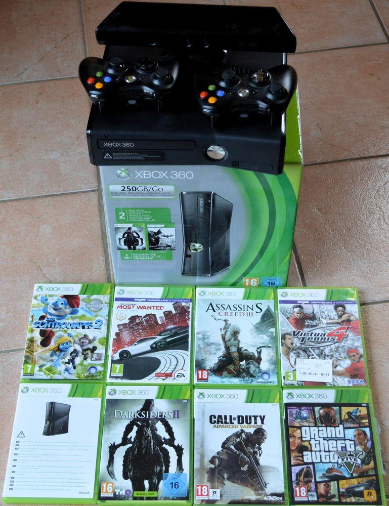 XBOX 360 250 go + Kinect 250 Kermaria-Sulard (22)