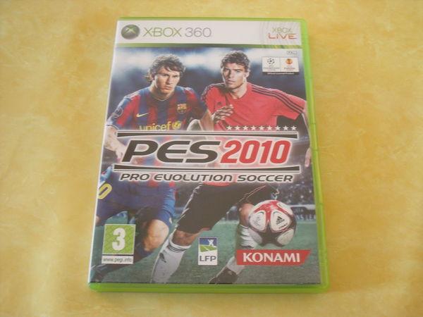 JEU XBOX 360 LIVE-PRO EVOLUTION SOCCER 2010 Consoles et jeux vidéos