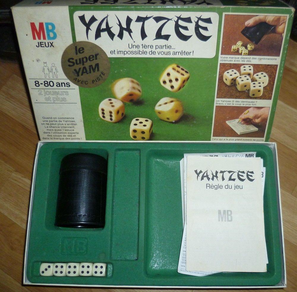 Yahtzee - MB 1973 - Jeu de société vintage 15 Vieux-Condé (59)
