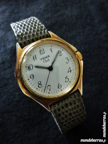 YEMA Club montre mécanique 1965 YEM0015 85 Metz (57)