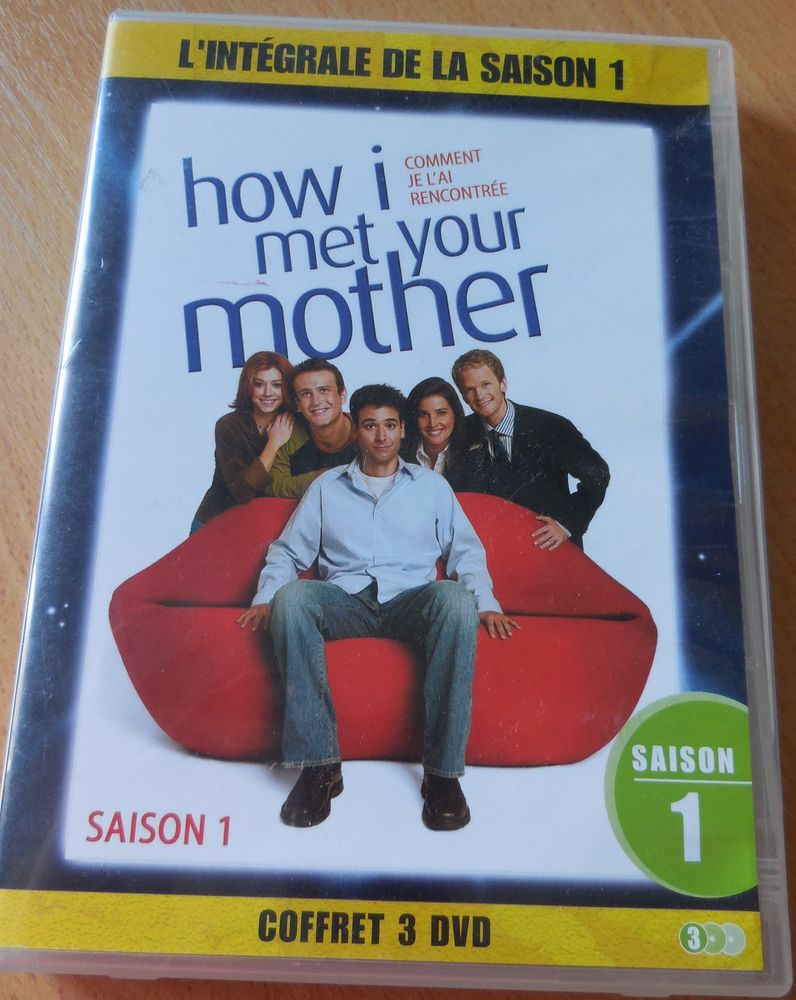 How I met your mother Saison 1 DVD et blu-ray