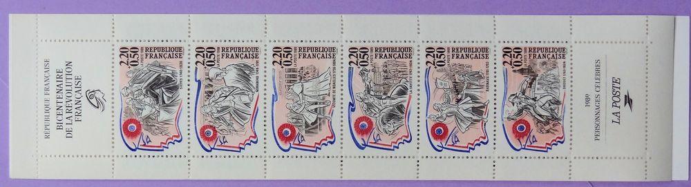 Yvert 2570 Carnet Personnages Célèbres...1989  2 Chaumontel (95)