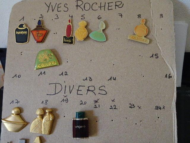 PIN's YVES ROCHER 1 Trouillas (66)