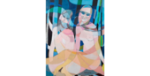 Yvette Maniglier (née en 1929) oeuvre signée 0 Boulogne-Billancourt (92)