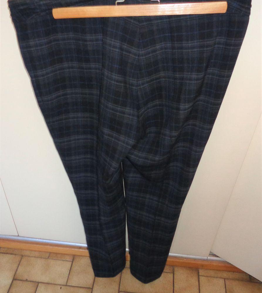 zara pantalon femme noir gris t46/48  18 Argenteuil (95)