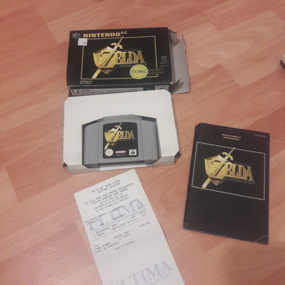 Jeu Zelda Nintendo 64 0 L'Île-Saint-Denis (93)