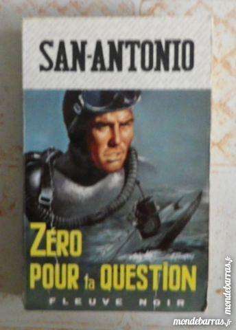 ZERO POUR LA QUESTION SAN ANTONIO 643 1968 Livres et BD