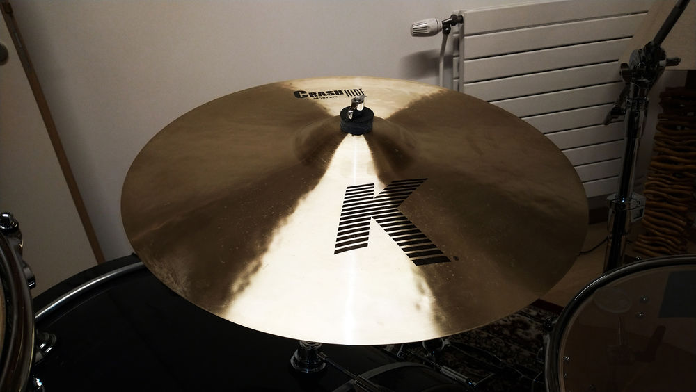 Zildjian K crash/ride 20  300 Dijon (21)
