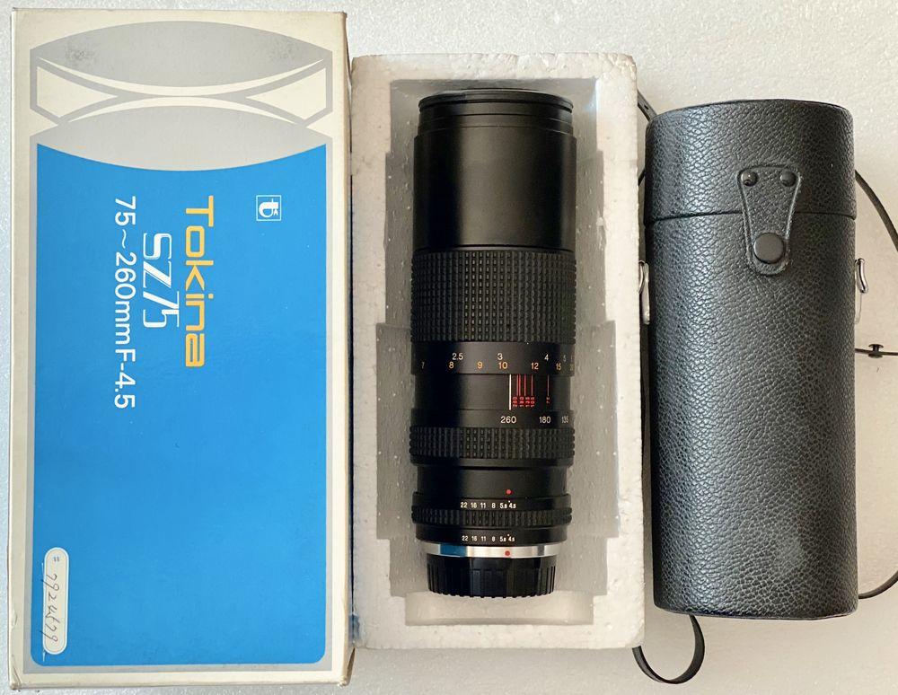 Zoom RMC Tokina 75/260 mm 4.5 Diam 62 mm Pentax K,ME,RICOH 59 Joué-lès-Tours (37)