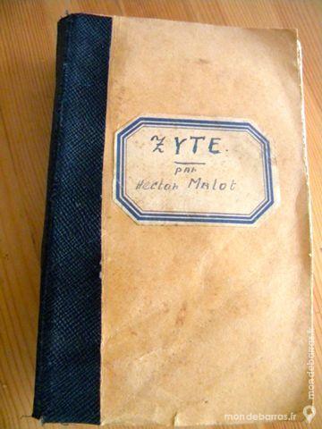 Zyte de Hector Malot - 1886 6 Villeurbanne (69)