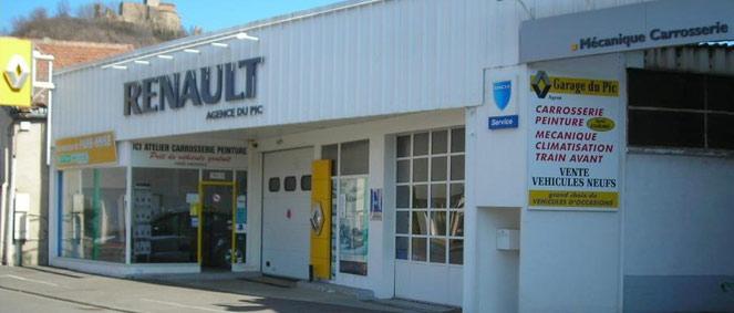 Garage du pic vente v hicules occasion professionnel for Garage renault st ouen du tilleul