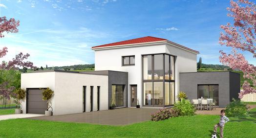 Jbm maisons ind constructeur immobilier veauche 42340 for Constructeur maison 42