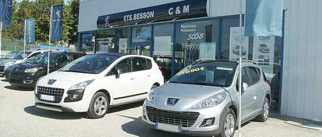 Garage peugeot besson vente v hicules occasion for Garage renault occasion valreas