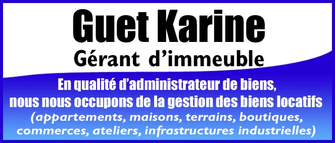 Guet karine administrateur de biens montereau fault for Montereau fault yonne code postal